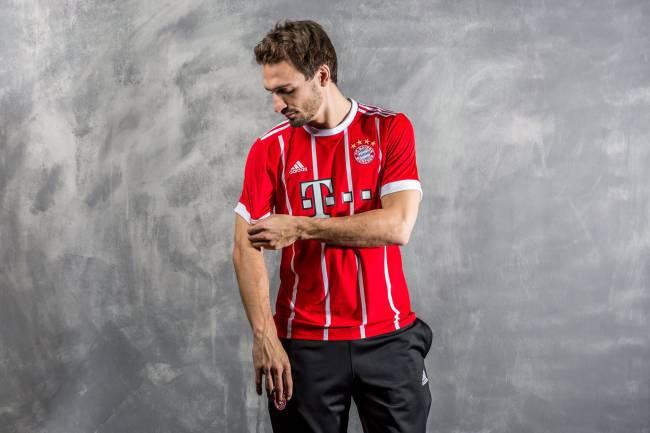 Nova camisa do Bayern de Munique (Bayern de Munique/Divulgação)