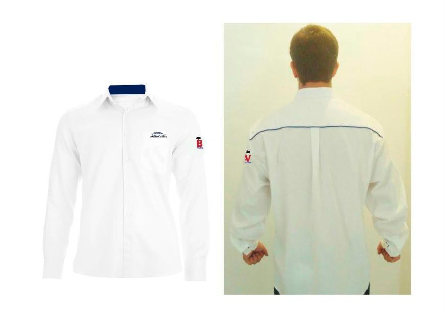 As camisas sociais personalizadas e ideal para escritórios e vendedores